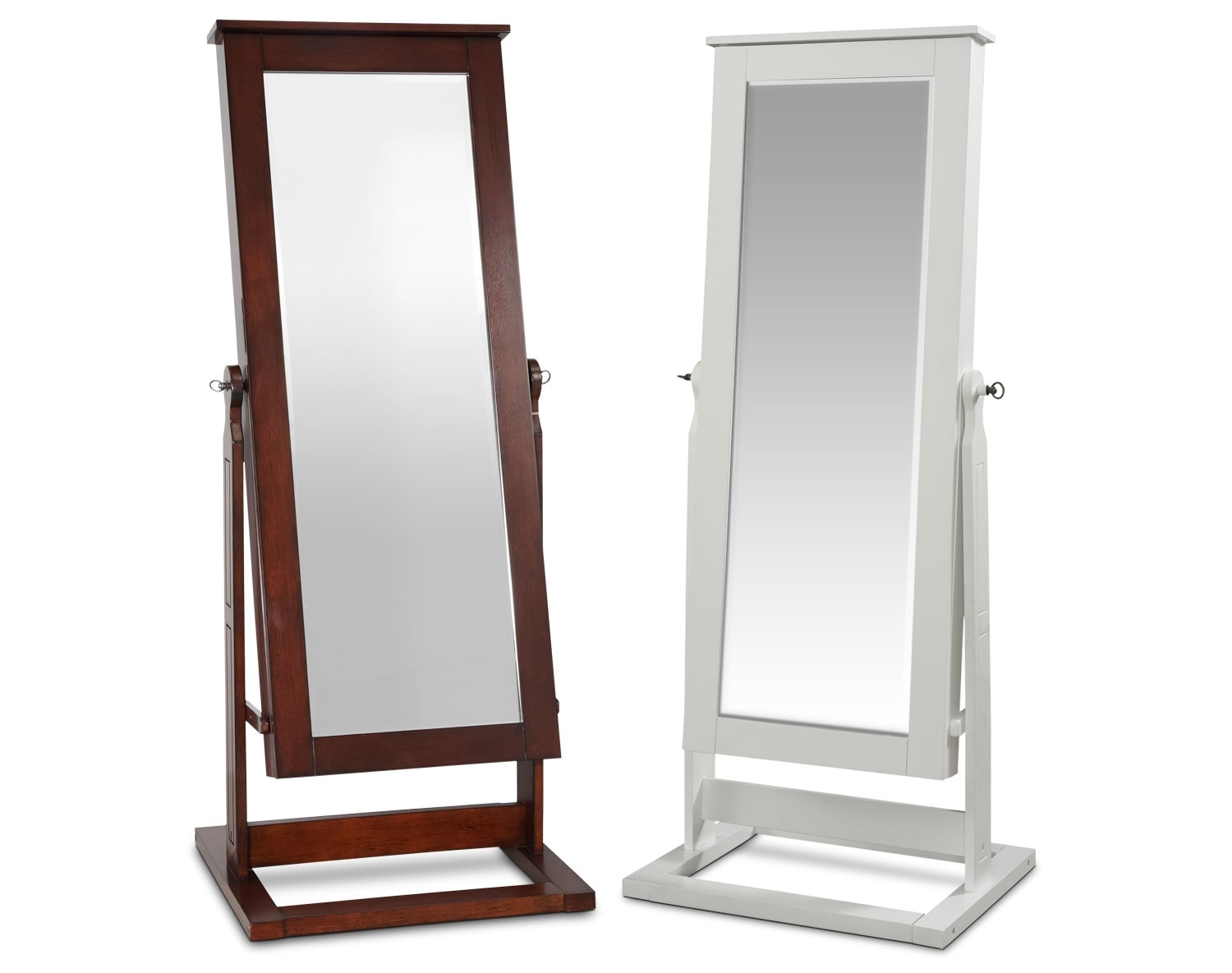 The Perrie Cheval Storage Mirror