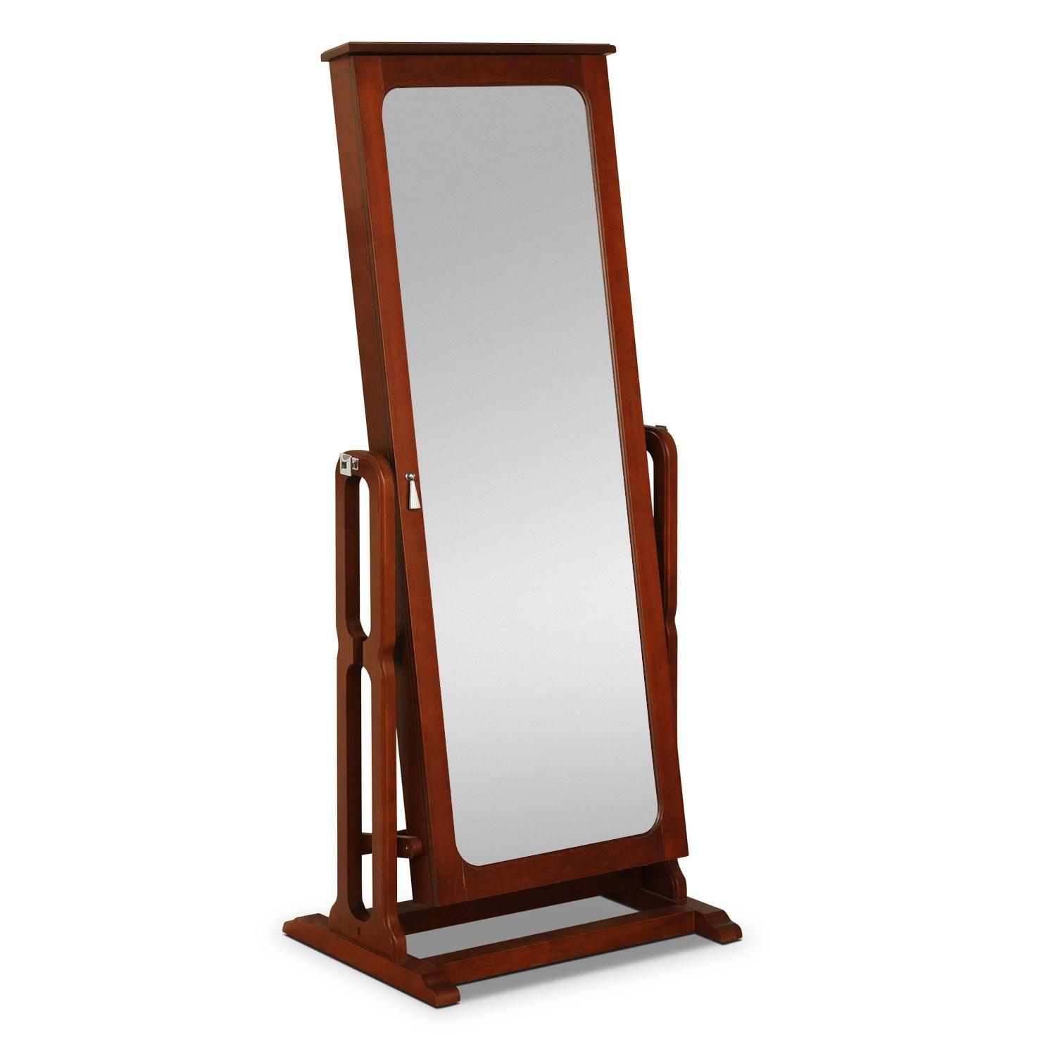 Accent and Occasional Furniture - Sadie Cheval Storage Mirror