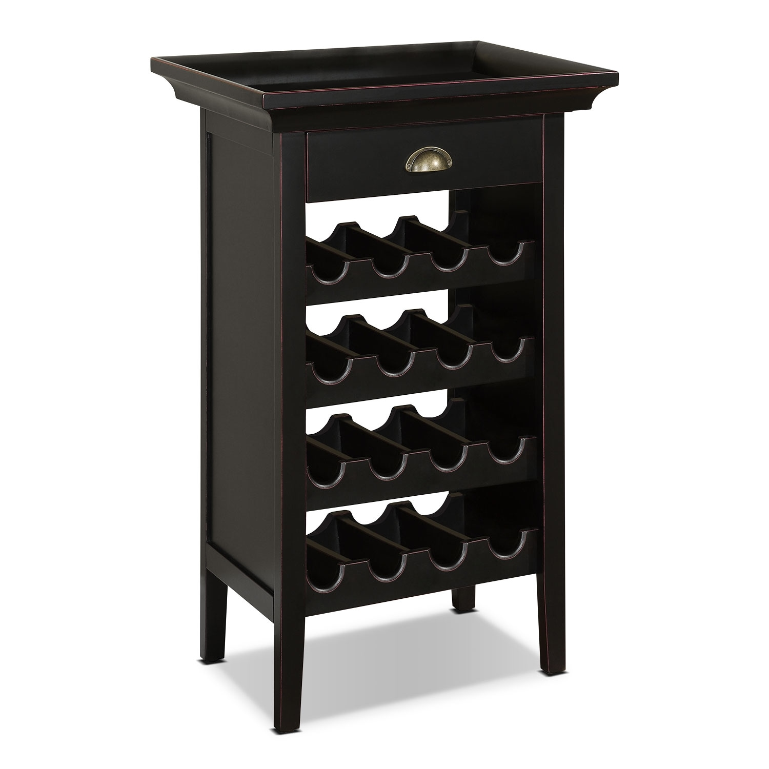 East Point Wine Cabinet - Black