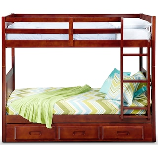 Ranger Twin over Twin Storage Bunk Bed