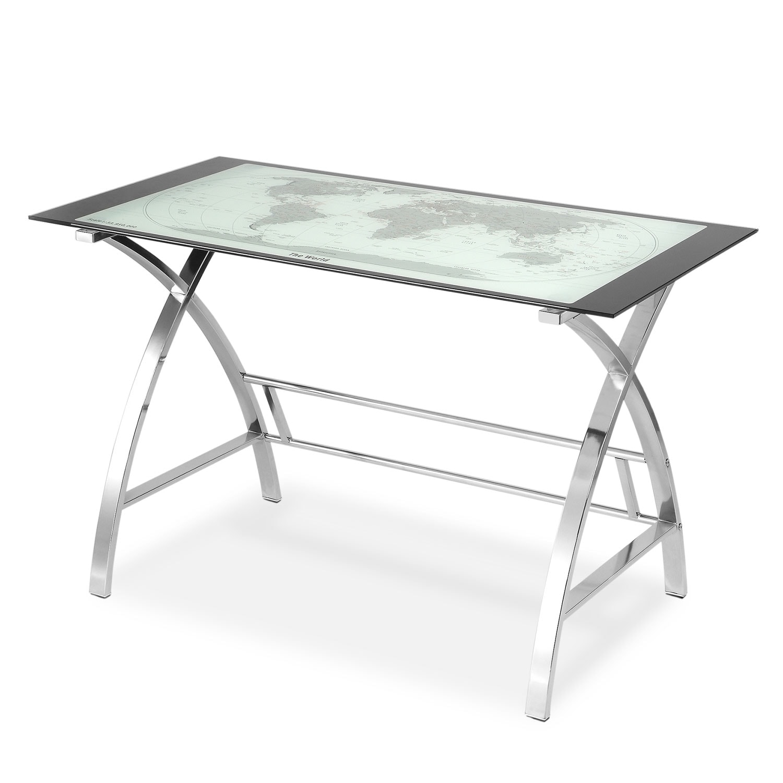 Aether Desk - Chrome