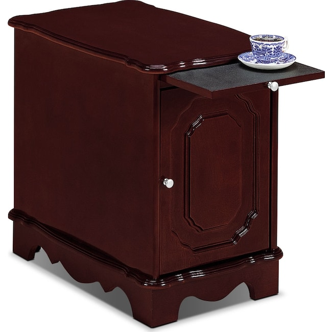 Accent and Occasional Furniture - Canton Magazine Cabinet - Cherry