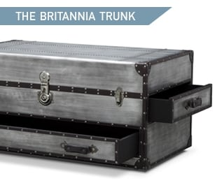 Shop the Britannia Trunk Cocktail Table