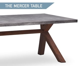 Shop the Mercer Concrete Dining Table