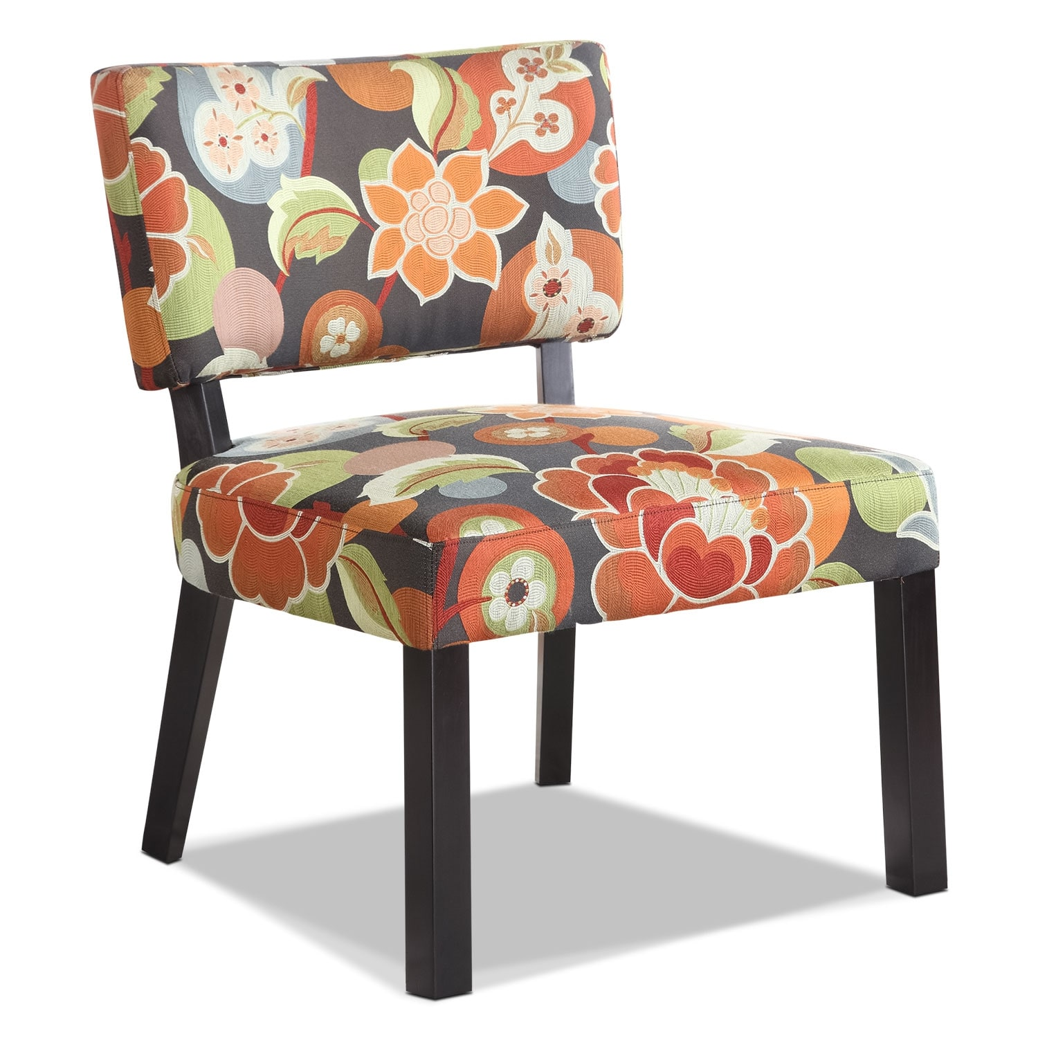 Living Room Furniture - Florence Accent Chair - Floral