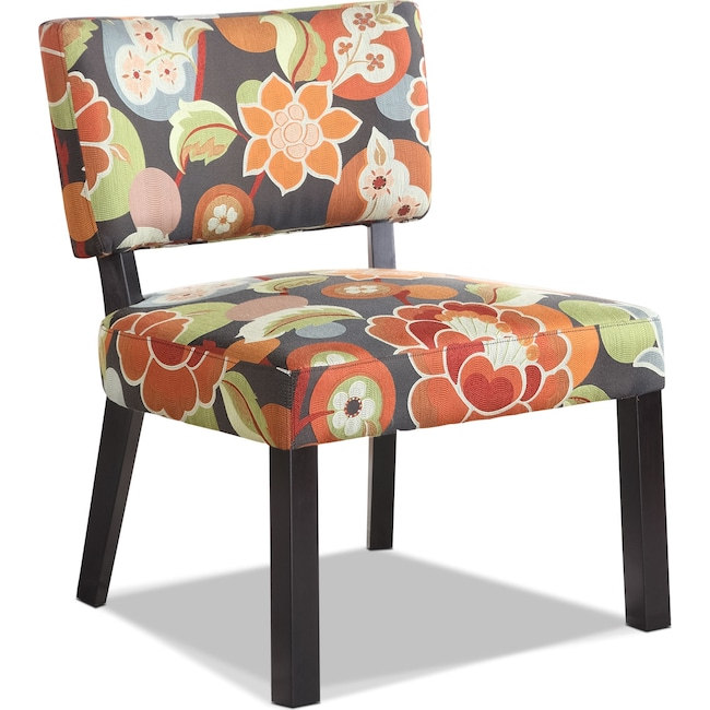 Accent and Occasional Furniture - Florence Accent Chair - Floral