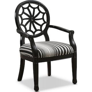 Willa Accent Chair - Black
