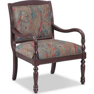 Cadence Accent Chair - Paisley