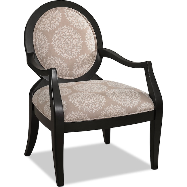 Accent and Occasional Furniture - Mellie Accent Chair - Pearl