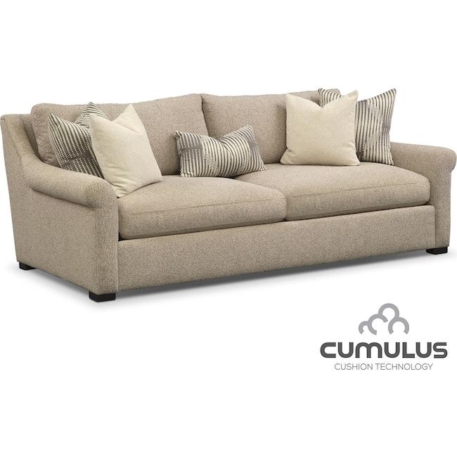 Living Room Furniture - Robertson Cumulus Sofa - Beige