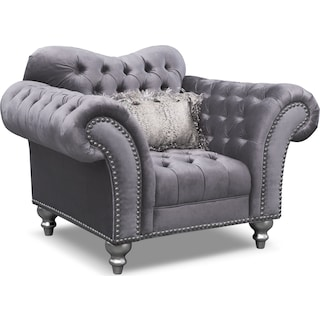 Brittney Chair - Gray