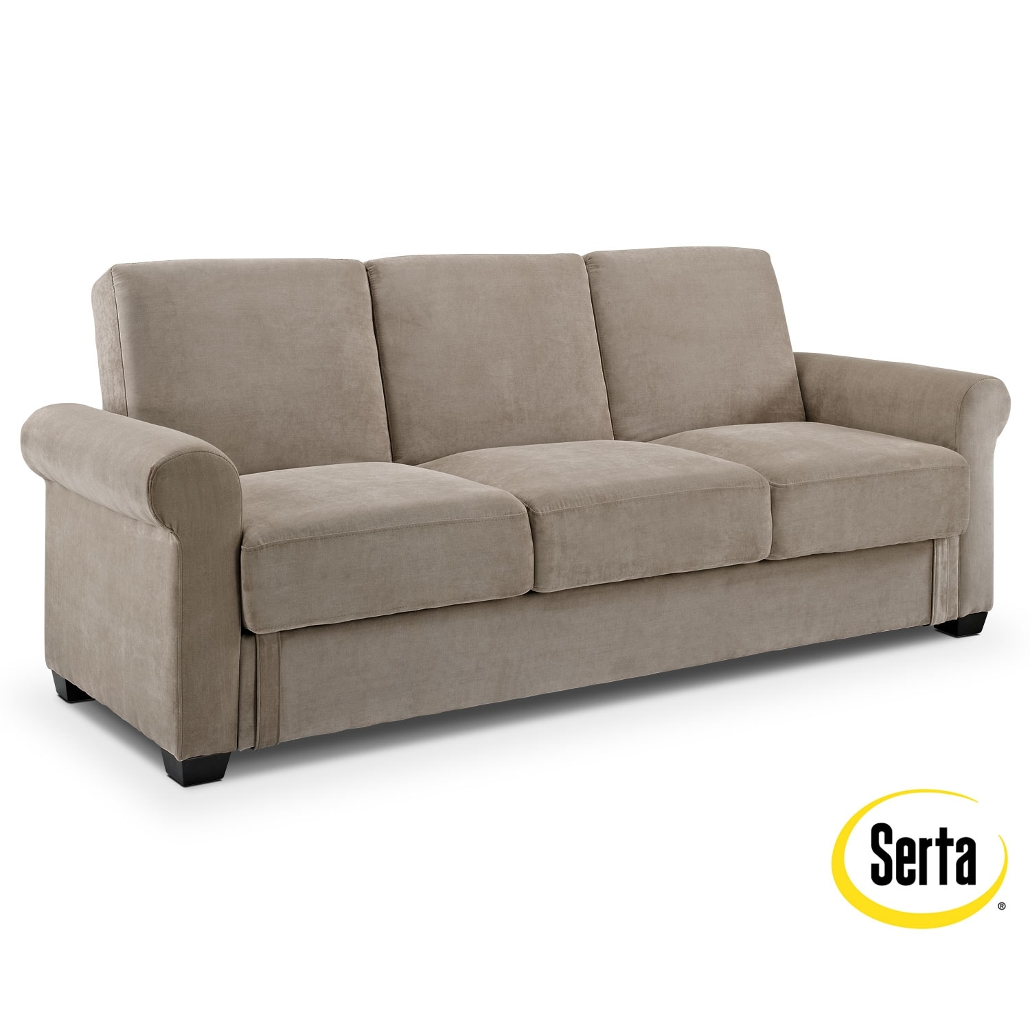 Thomas upholstery futon sofa bed with storage american for Sofa 99 euro