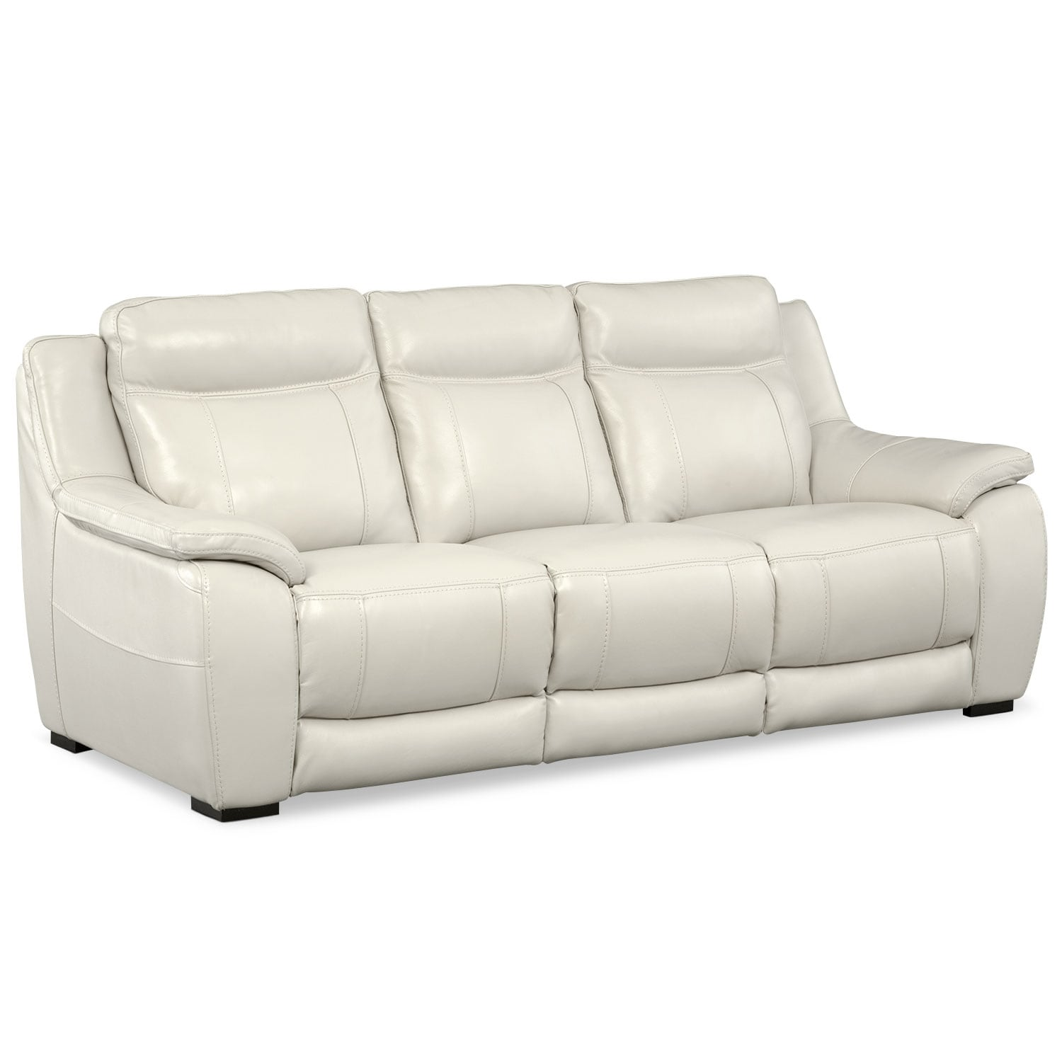 Living Room Furniture - Lido Ivory Sofa