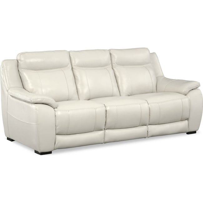 Living Room Furniture - Lido Sofa - Ivory