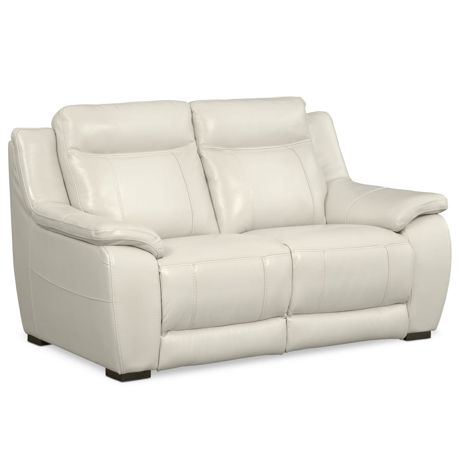 Living Room Furniture - Lido Ivory Loveseat
