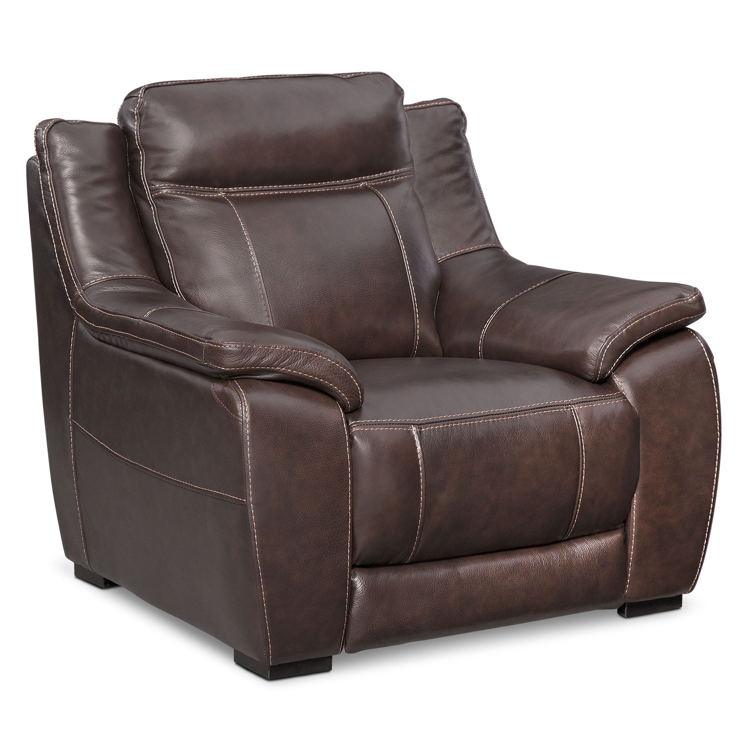 Living Room Furniture - Lido Brown Chair