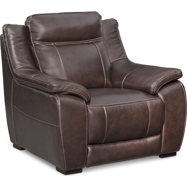 Living Room Furniture - Lido Chair - Brown