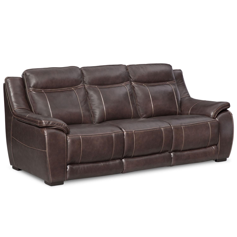 Lido Sofa - Brown   American Signature Furniture