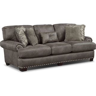 Burlington Sofa - Steel