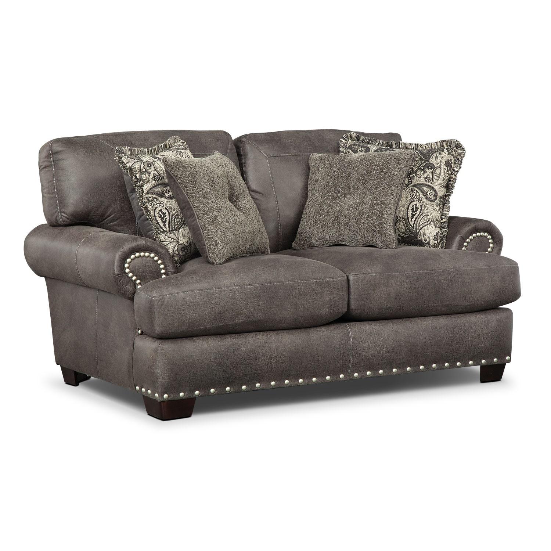 Living Room Furniture - Burlington Steel Loveseat