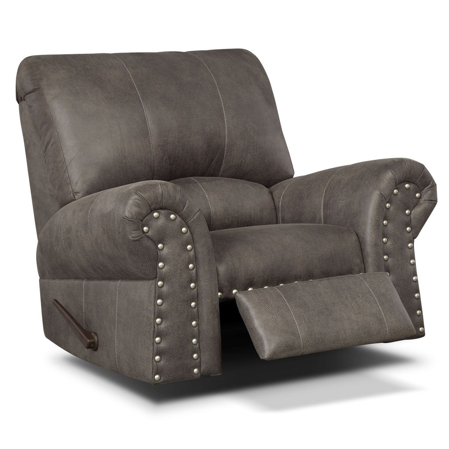 Burlington Steel Recliner