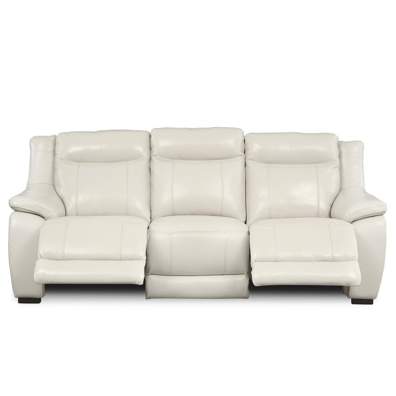 Lido Power Reclining Sofa Ivory