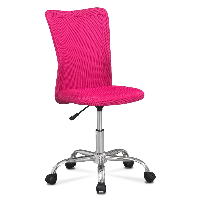 Home Office Furniture - Mist Desk Chair - Pink