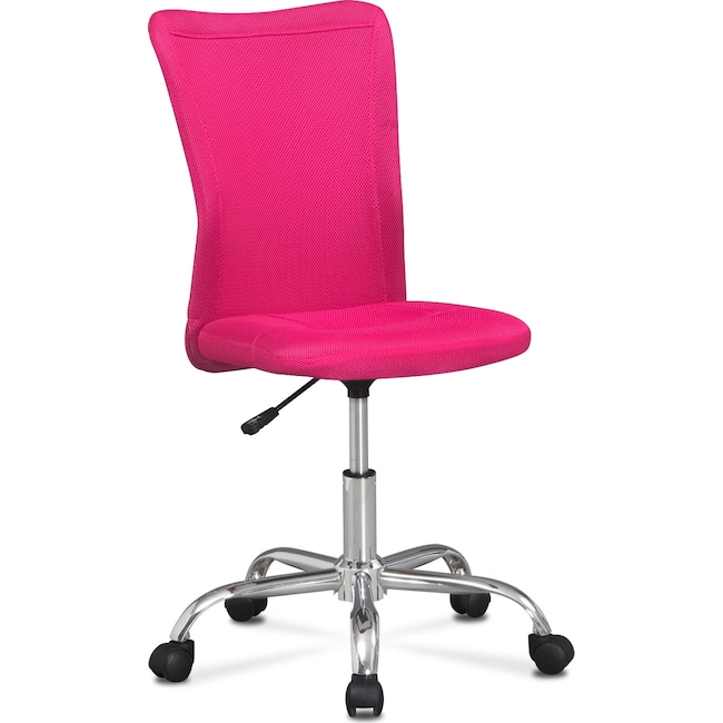 Home Office Furniture - Mist Desk Chair - Pink