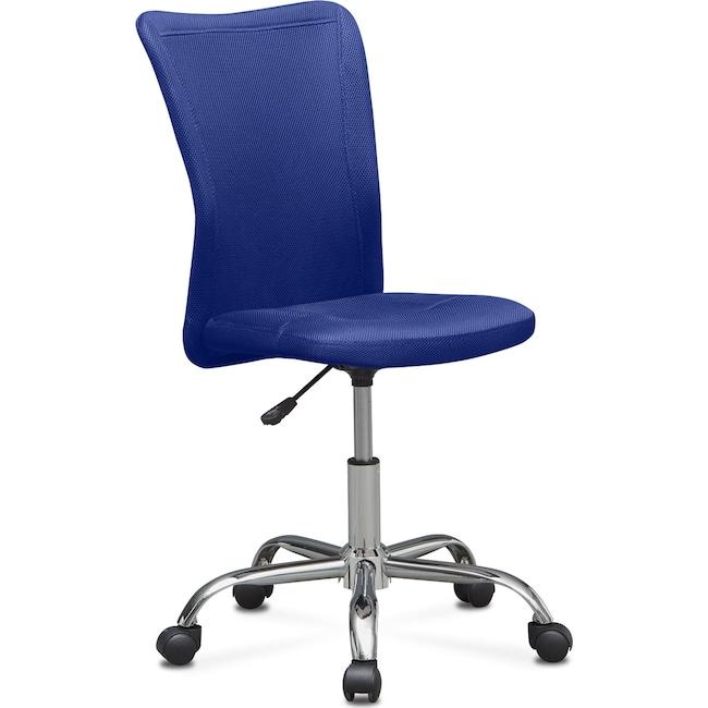 Home Office Furniture - Mist Desk Chair - Blue