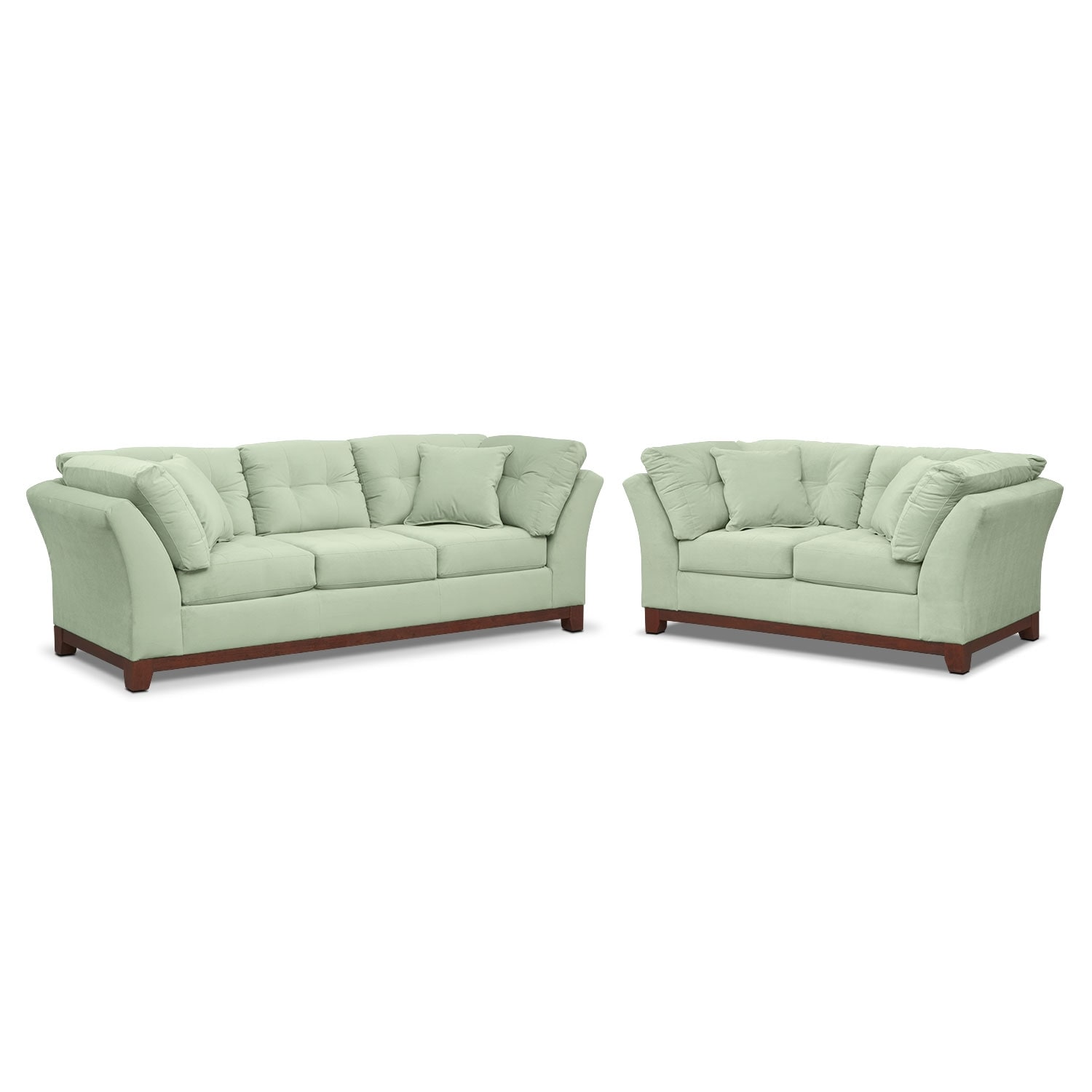 Living Room Furniture - Solace Spa 2 Pc. Living Room