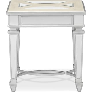 Royale End Table - Mirror
