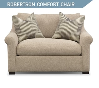 Shop the Robertson Comfort Cushion Chair and a Half