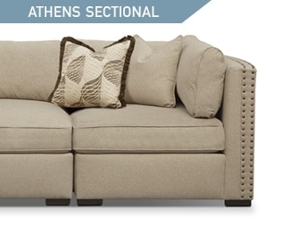 Shop the Athens 5 piece Sectional