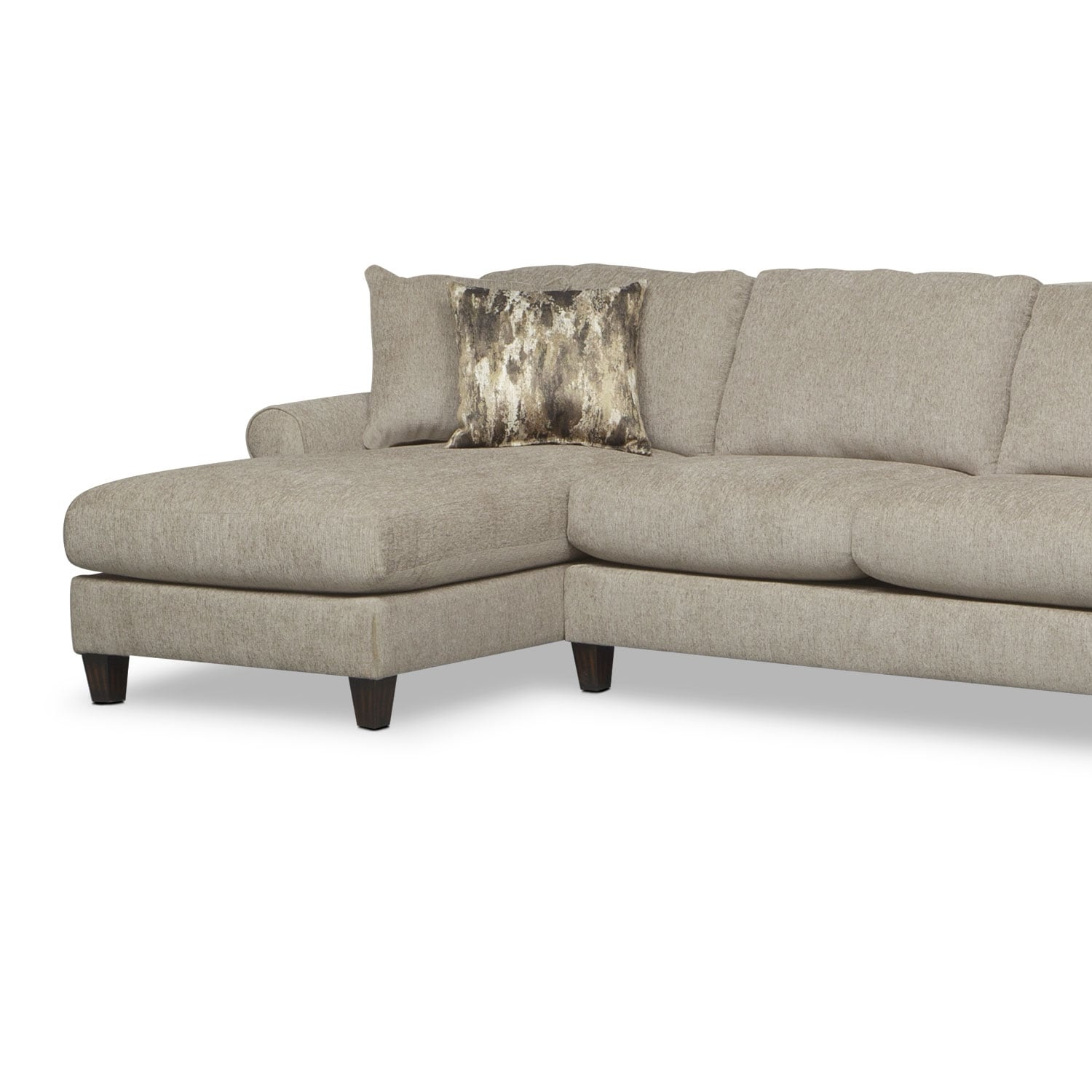 Karma 3 Piece Sectional with Right Facing Cuddler and Left Facing