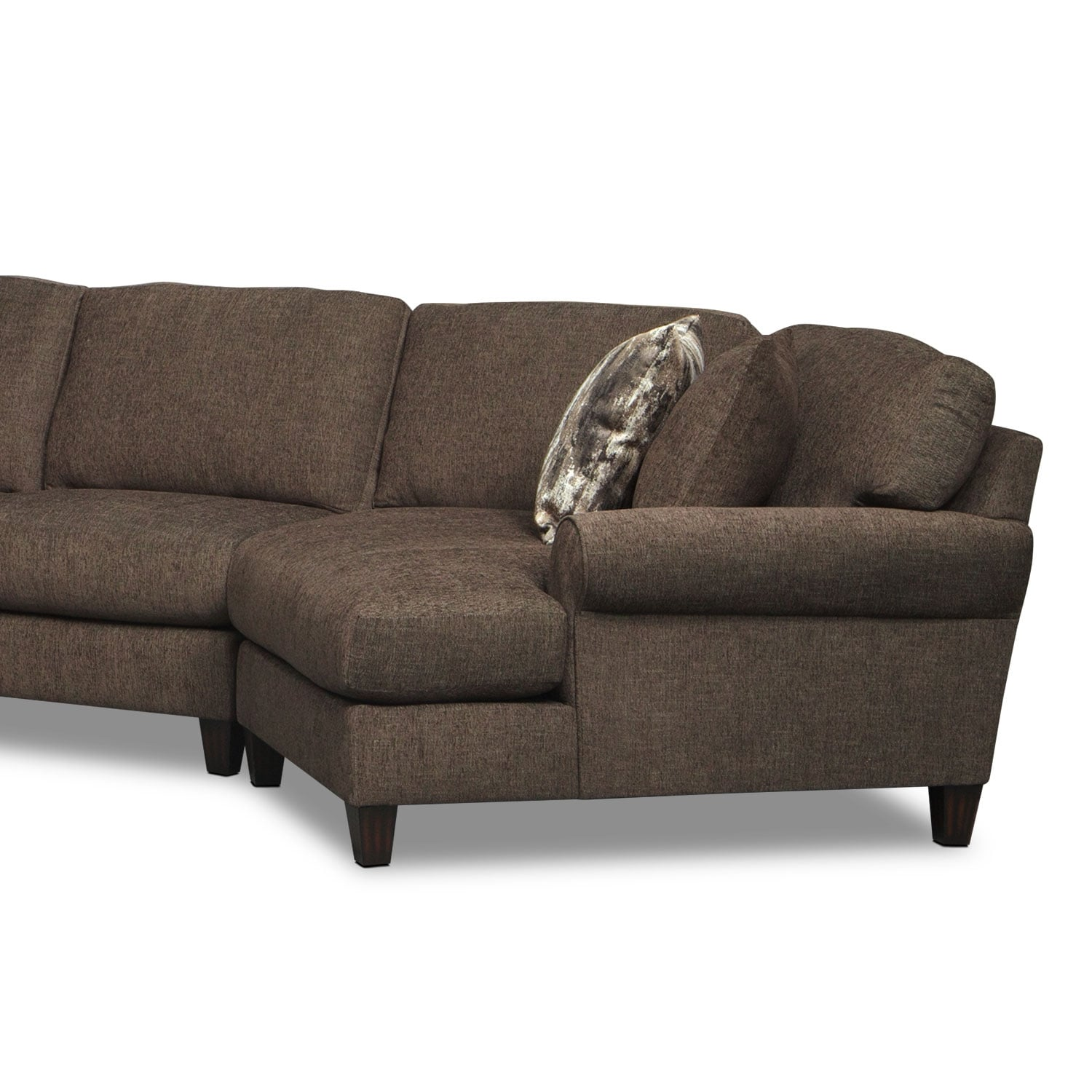 Karma 3 Piece Sectional with Left Facing Chaise and Right Facing