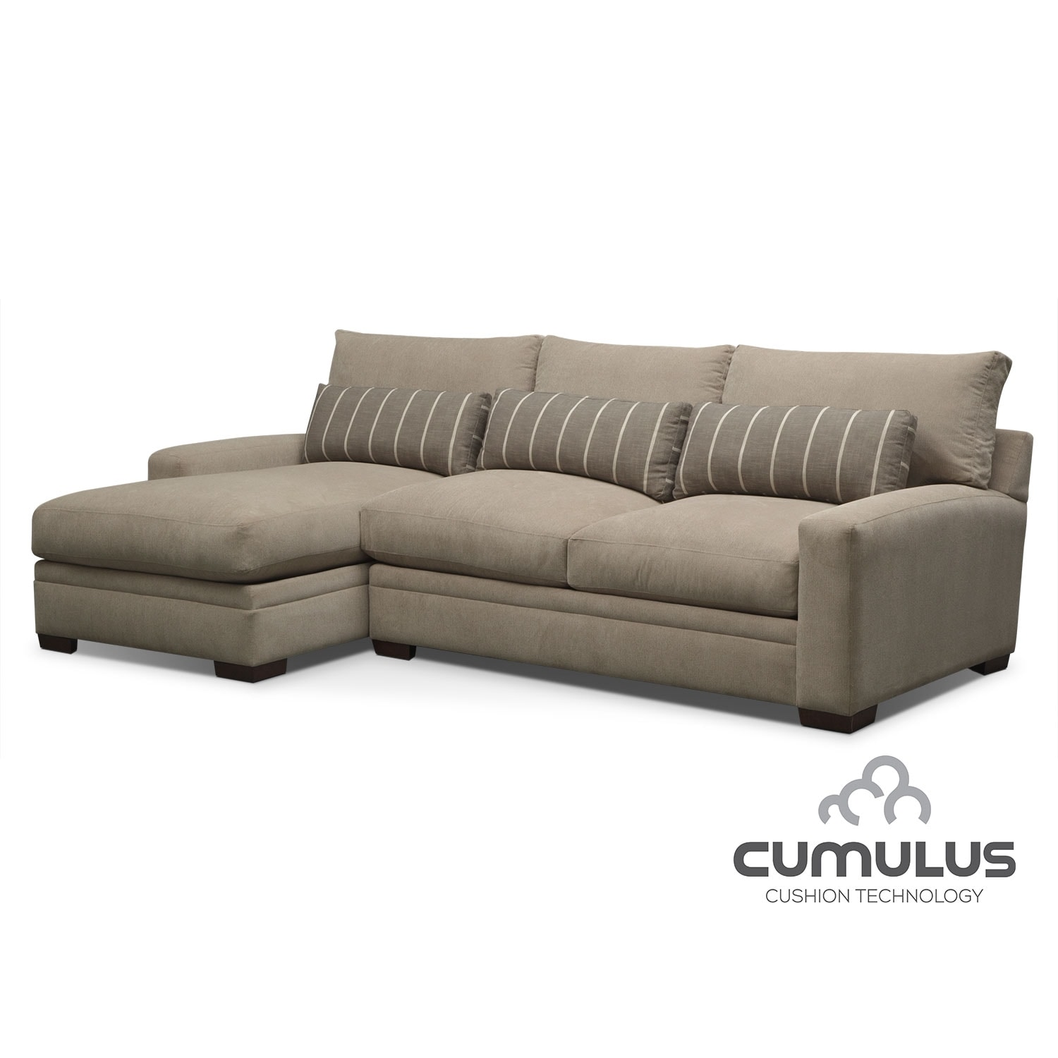Ventura 2-Piece Left-Facing Sectional - Buff