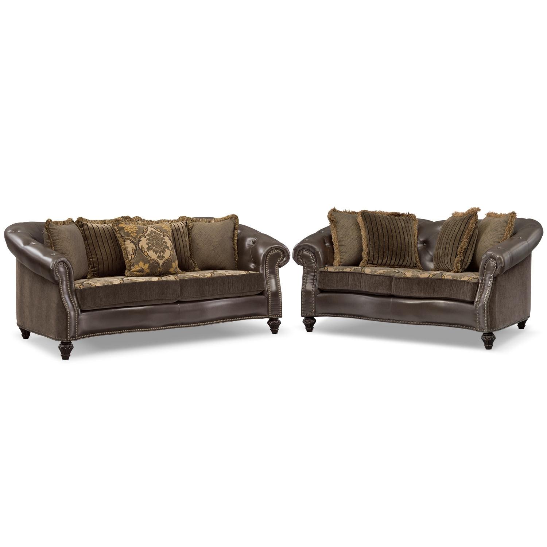 Living Room Furniture - Nicholas 2 Pc. Living Room