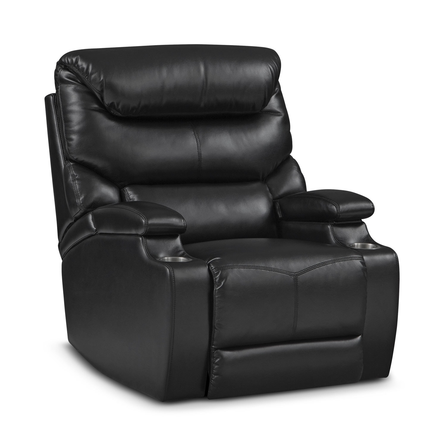 Jupiter Black Power Recliner