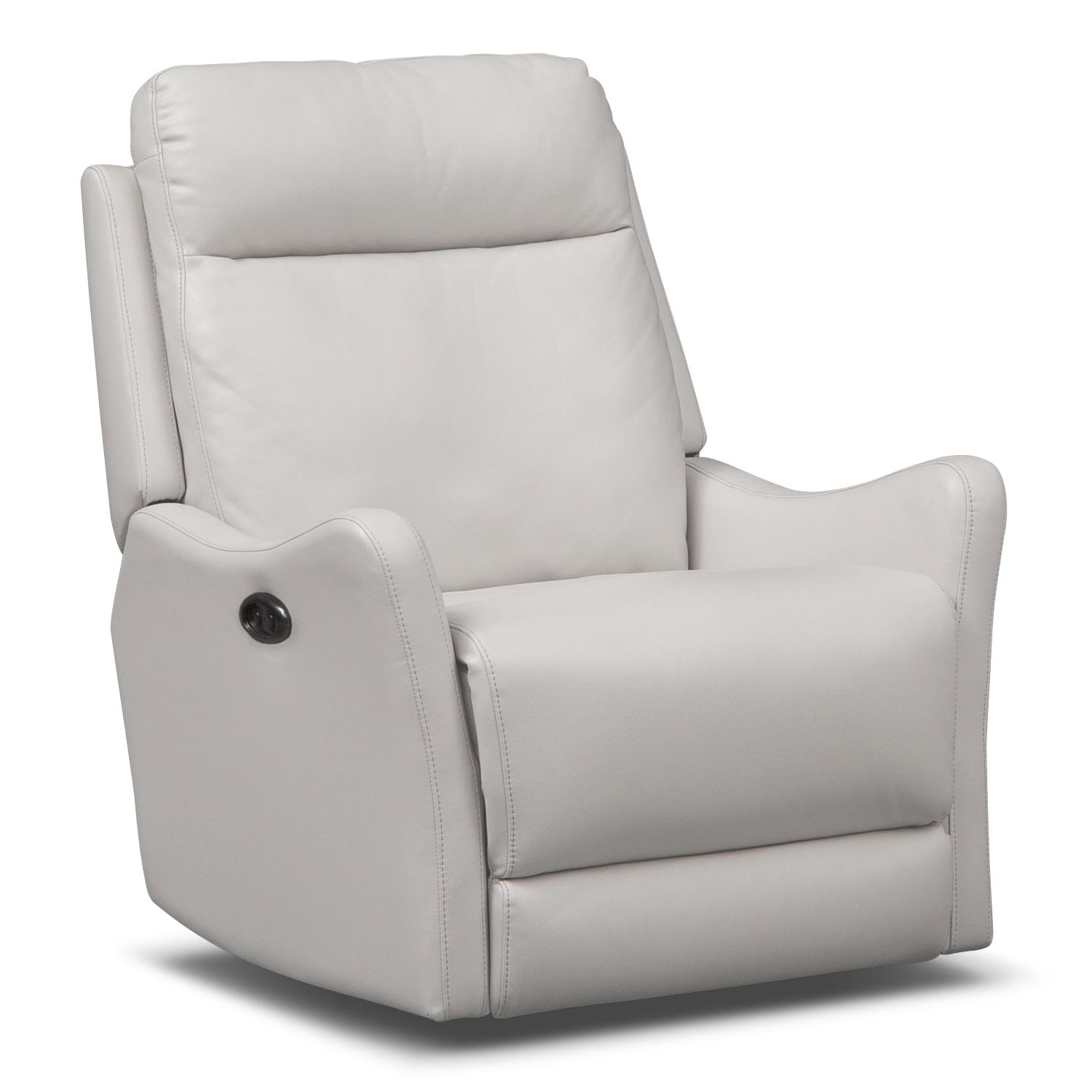 Enzo Power Recliner - White