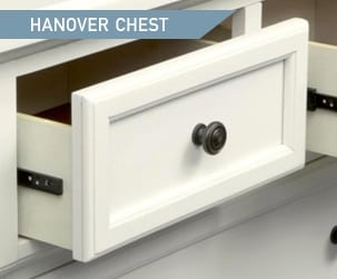 Shop the Hanover White Panel Chest
