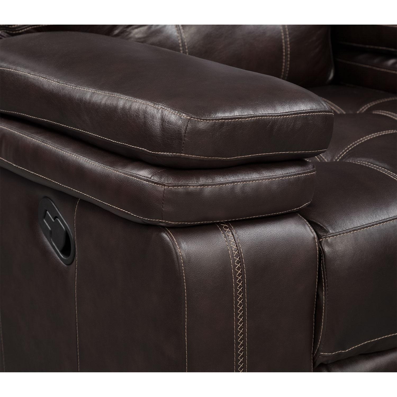 Brisco Manual Reclining Sofa Reclining Loveseat And