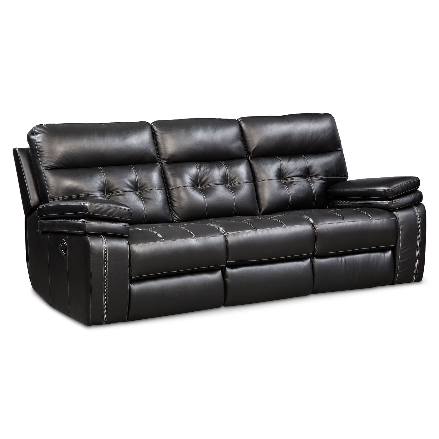 Living Room Furniture - Brisco Manual Reclining Sofa