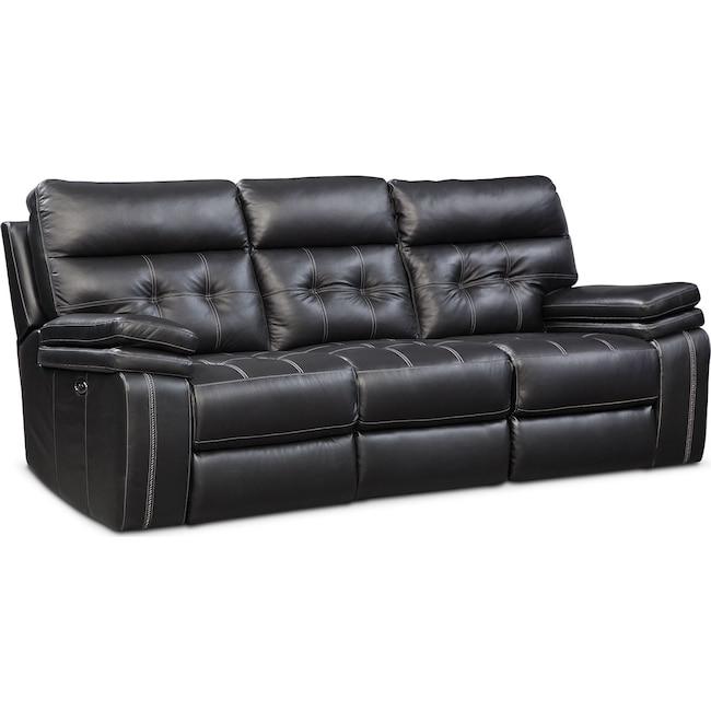 Living Room Furniture Brisco Reclining Sofa