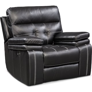 Brisco Power Glider Recliner - Black