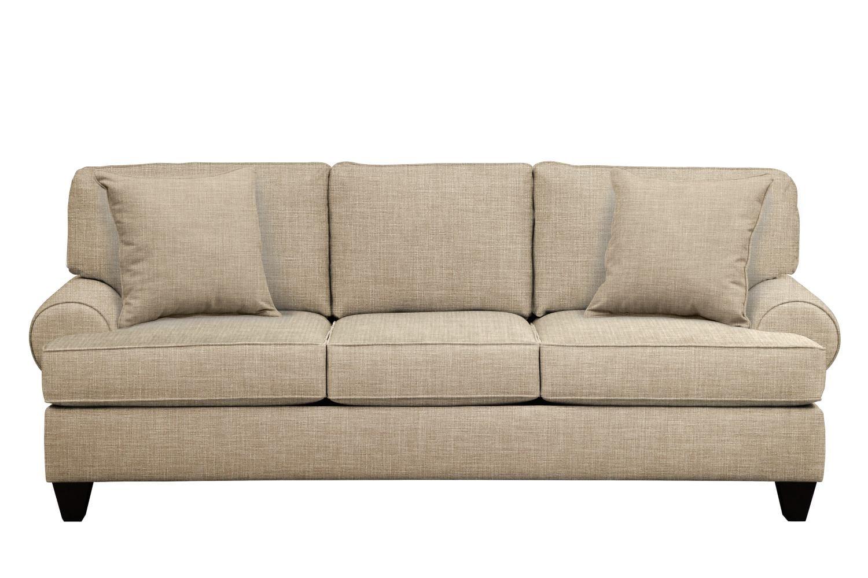 Bailey Roll Arm Sofa 91 Quot Milford Ii Toast W Milford Ii