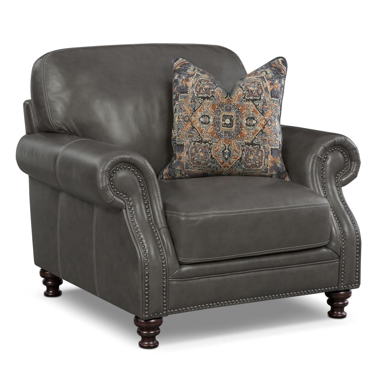 Carrington Charcoal Chair