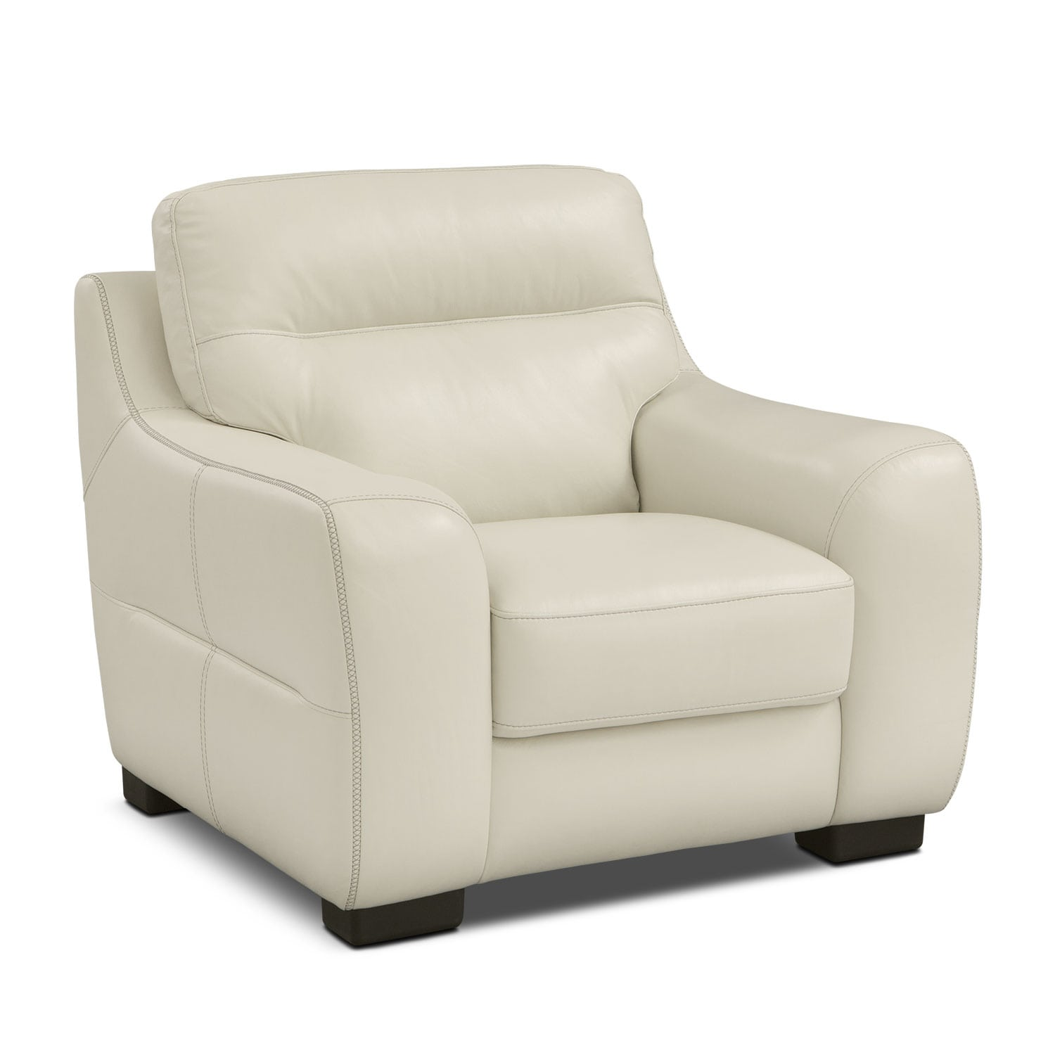 Living Room Furniture - Rocco Snow Chair