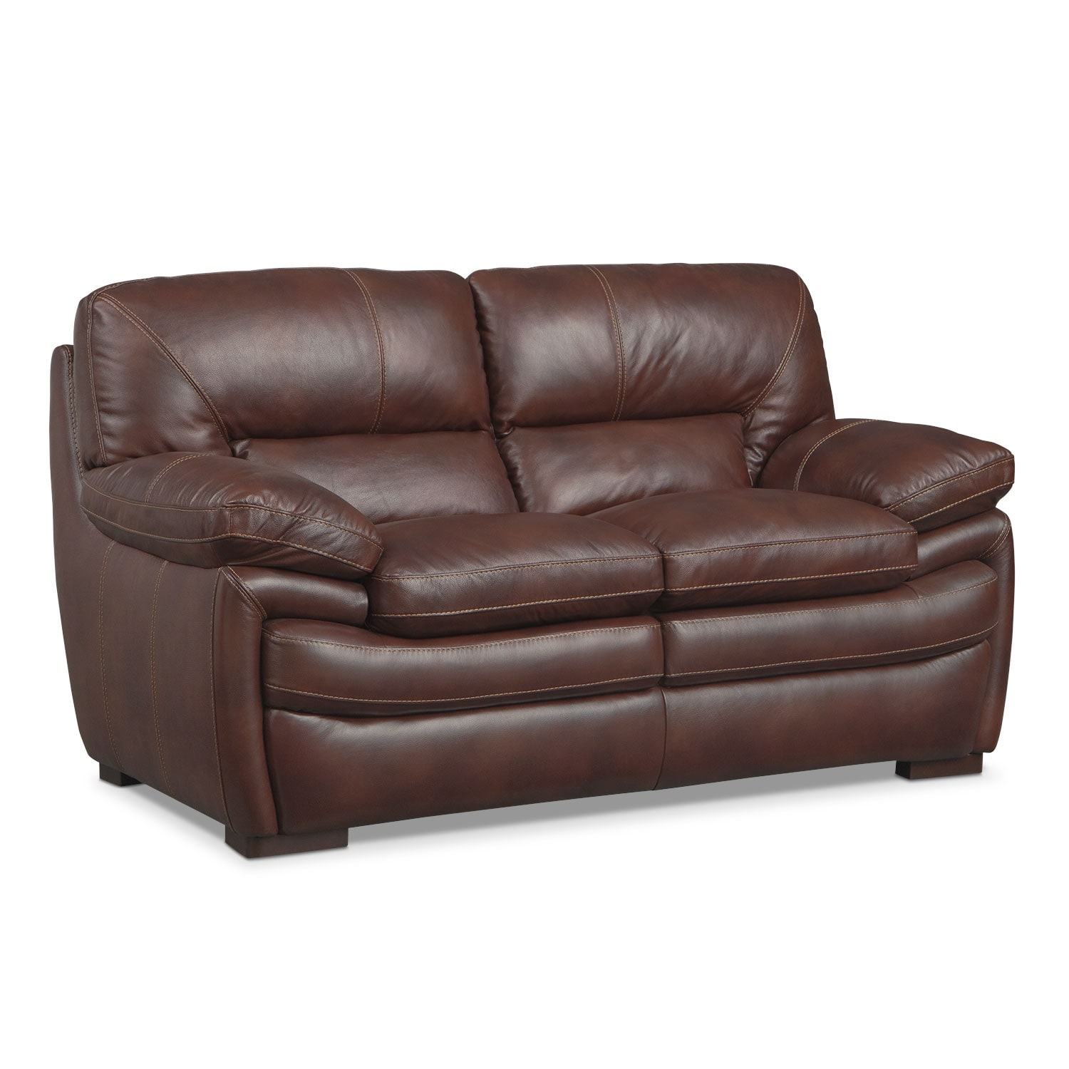 Peyton Chestnut Loveseat