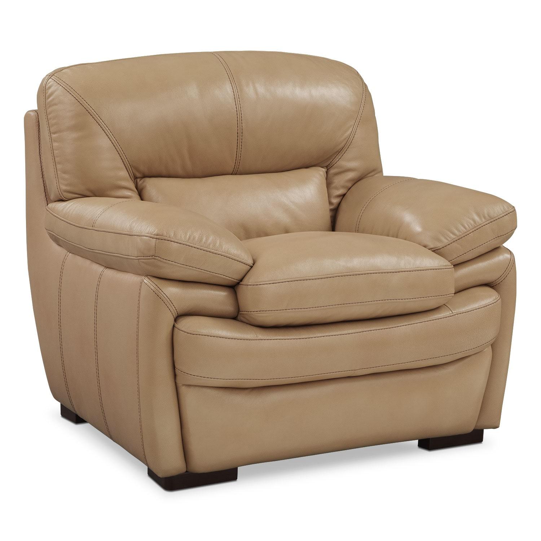 Living Room Furniture - Peyton Taupe Chair