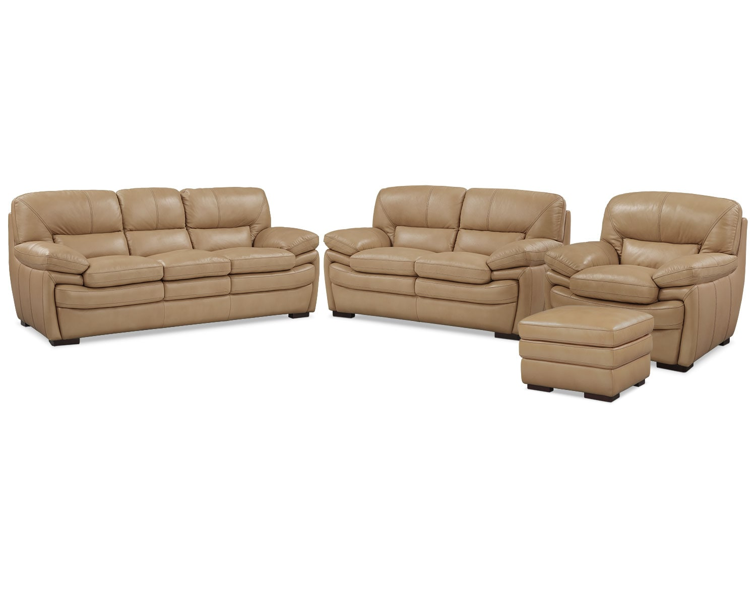 The Peyton Taupe Living Room Collection